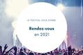 Festival dans la  Marne en 2021 et 2022
