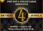 Birthday Jungle Pub | 4 Ans | 2 Concerts