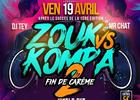 ZOUK VS KOMPA #2 | FIN DE CARÊME | MIX DJ TEY & MR CHAT
