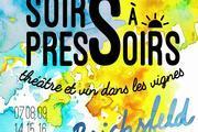 Festival de théâtre Soirs à Pressoirs - Théâtre et vin dans les vignes