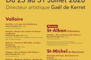 Festival Valloire baroque 2020 11è édition