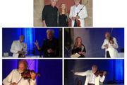 LES CATHÉDRALES Musique Jean Sébastien Bach Texte Auguste Rodin  (extraits), Patrice Fontanarosa, violon et Odile Michel, comédienne, Patrick Olivier, comédien.