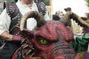 Les dragons à la foire expo de Saint Brieuc