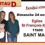 Messe animée par Jean Paul et Brigitte Artaud