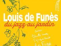 Louis de Funès, du jazz au jardin