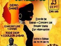Soirée Sud France Sénégal