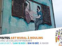Visites Art Mural à Moulins / #Di(x)visions