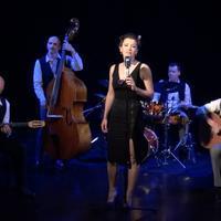 Les Accordés Swing en concert au Festival Les Celliers du Jazz