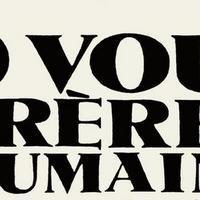 Ô vous frères humains