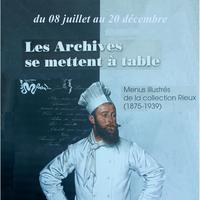 Les Archives se mettent à table