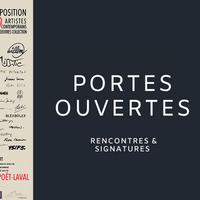 Portes ouvertes du centre d'art avec rencontres et signatures des artistes exposés