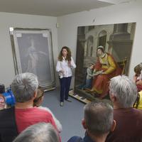 Visite Guidée De L'atelier De Restauration De Peinture Et Arts Graphiques