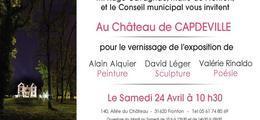 Exposition à Fronton au Château de Capdeville