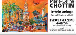 Exposition de peinture espace Créazione