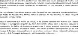 Les Nouveaux Nez & Cie Bourg saint Andeol