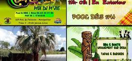 Only Zouk / En Extérieur / Mix Dj M'Jie / Pool - BBQ - Bokits