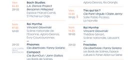 Rencontres Essonne Danse 2020