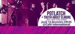 Soirée lauréats Musiques de RU (Potlatch + Truth About Elmore)