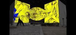 Une Nuit Blanche (C'est Trop Court !) [Mapping Vidéo - Nice]
