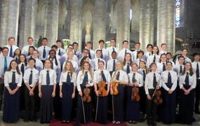 Concert Latymer School (GB) - Soirées de la Cathédrale 2018