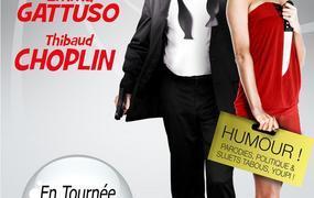 Spectacle Dîner spectacle: Emma Gattuso et Thibaud Choplin: Le Duo