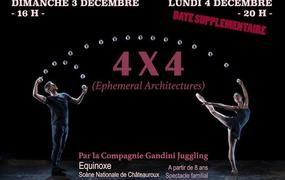 Spectacle 4 x 4 - Ephemeral Architectures