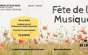 Concert Fête de la Musique - Mayenne - Au Local