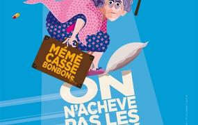 Spectacle Anne Cangelosi Dans On N'Achève Pas Les Vieux !