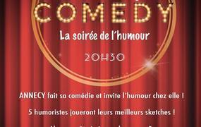 Spectacle Annecy Comedy : La Soirée De L'Humour