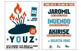 Concert 1998 > 2018 : 20 Ans de Youz