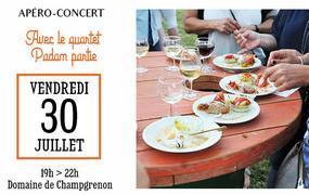 Apéro concert avec le quartet Padam Partie