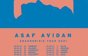 Concert Asaf Avidan | La cartonnerie