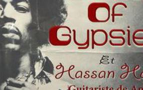 Concert Band Of Gypsies  Tribute Jimi Hendrix  Avec Hassan Hajdi