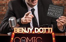 Spectacle Benjy Dotti Dans The Late Comic Show