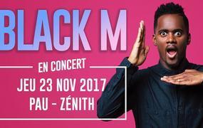 Concert Black M - Éternel Big Black Tour - Zénith, Pau