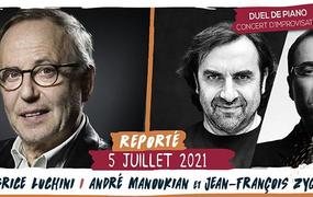 Spectacle Fabrice Luchini / André Manoukian et JF Zygel