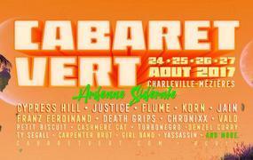 Concert Cabaret Vert + Camping - 4jrs