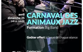 Spectacle Carnaval des animaux jazz