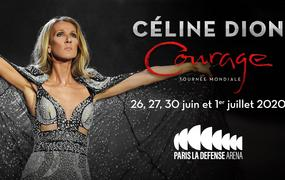 Concert Céline Dion Courage World Tour