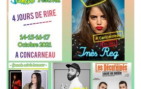 Spectacle Concarn'Fait Sa Comedie - Pass 2 Jours