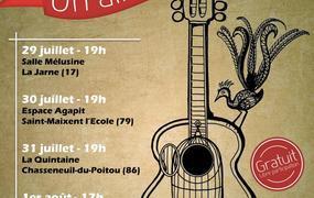 Concert Chasseneuil (86) - Un Air de Liberté