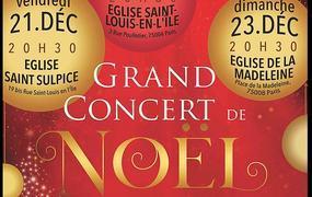 Concert Musique de Noël Chœur et Orchestre
