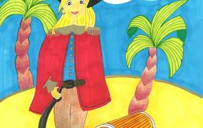 Spectacle Dame pirate Mosquita