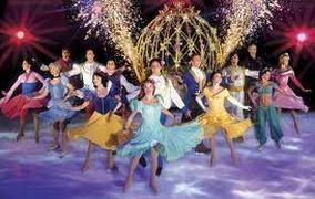 Spectacle Disney Sur Glace Le Voyage Imaginaire