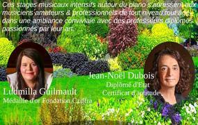 Concert 2 ème stage International  d'Eté, piano en Charente
