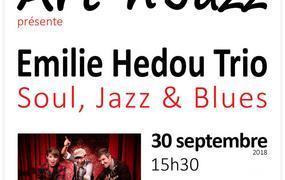 Concert Emilie Hedou Trio, Soul, Jazz & Blues
