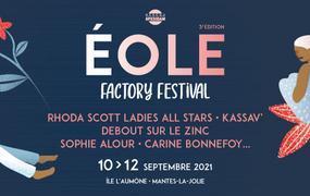 Concert Eole Factory Festival 2021 - Pass 3j