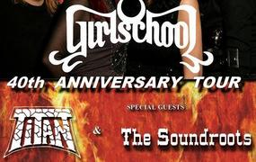 Concert Girlschool-Titan-The Soundroots