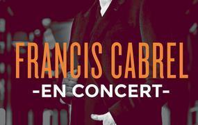 Concert Francis Cabrel + 1ere Partie