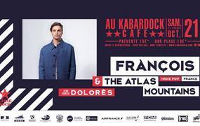 Concert Frànçois & The Atlas Mountains | 1ère partie : Dolorès